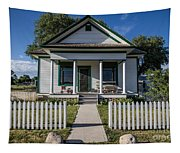 White Picket Fence Tapestry