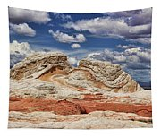 White Pocket Tapestry