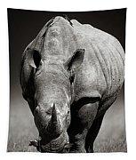 White Rhinoceros  In Due-tone Tapestry