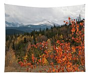 White River National Forest Autumn Panorama Tapestry