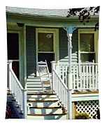 White Rocking Chairs Tapestry