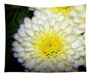 White Ruffles Tapestry