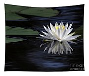 White Water Lily Tapestry