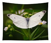 White Wings Of Wonder Tapestry