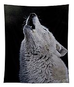 Timber Wolf Tapestry