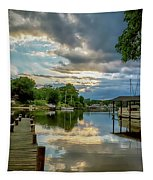 White's Cove Reflections Tapestry