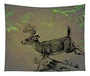 Whitetail Buck Tapestry