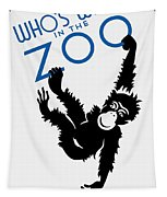 Who's Who In The Zoo - Wpa Tapestry