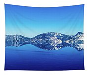 Wide Crater Lake Tapestry