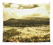 Wide Open Tasmania Countryside Tapestry