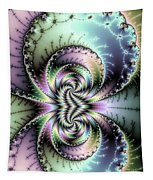 Wild And Crazy Fractal Art Vertical Tapestry