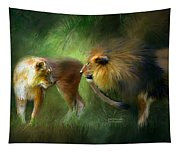 Wild Attraction Tapestry