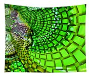 Wild Curves Abstract Tapestry