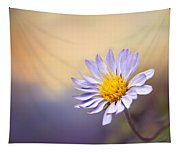 Lone Flower Tapestry