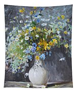 Wild Flowers Tapestry