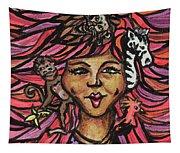 Wild Hair Tapestry