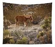 Wild Horse At Cold Creek Tapestry