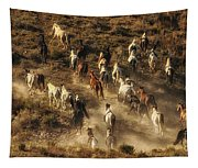 Wild Horses Gone Wild Tapestry