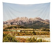 Wild Mountain Range Tapestry