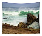 Wild Pacific Two Tapestry