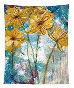 Wild Sunflowers- Art By Linda Woods Tapestry