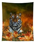 Wild Tigers Tapestry