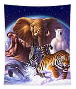 Wild World Tapestry