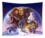 Wild World Tapestry