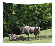 Wildebeest Tapestry