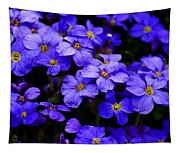 Wildflower Blues Tapestry