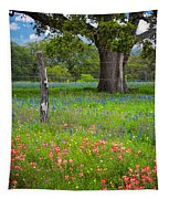 Texas Pastoral Landscape Tapestry