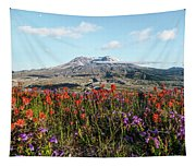Wildflowers At Mount St Helens Tapestry