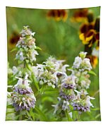 Wildflowers Three Tapestry