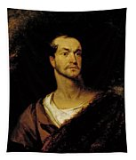 William Charles Macready As William Tell Tapestry