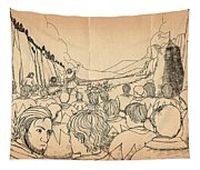 William Tell Offers Freedom Tapestry