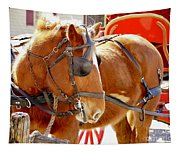 Williamsburg Carriage Horse Tapestry