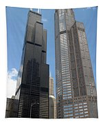 Willis Tower Aka Sears Tower And 311 South Wacker Drive Tapestry