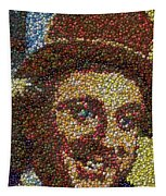 Willy Wonka Fizzy Lifting Bottle Cap Mosaic Tapestry