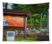 Wilmington Ny Alpine Events Olympic Winter Games 1980 Ski Lift Tapestry