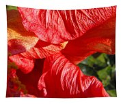 Wilting Hibiscus Two Tapestry