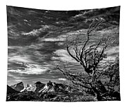 Wind Shaped Tree #2 - Patagonia Tapestry