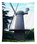 Windmill In Golden Gate Park Tapestry