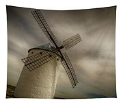 Windmills At Campo De Criptana Tapestry