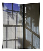 Window Lines Tapestry