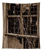 Window Of A Forgotten Mystery Tapestry