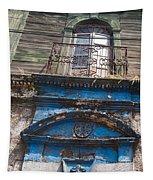 Window On Side Street Quezaltenango Guatemala Tapestry
