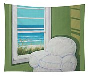 Window To The Sea No. 2 Tapestry