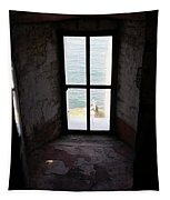 Window To The Sea Tapestry
