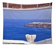 Window View To The Mediterranean Tapestry
