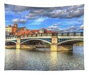 Windsor Bridge River Thames Tapestry